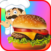 Fast Food Restaurant Burger Mania Cooking Games icon