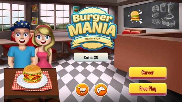 Fast Food Restaurant Burger Mania Cooking Games poster