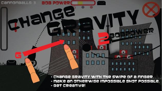 Cannon Man Bob Free apk screenshot