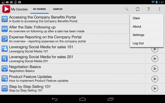 dominKnow Mobile apk screenshot