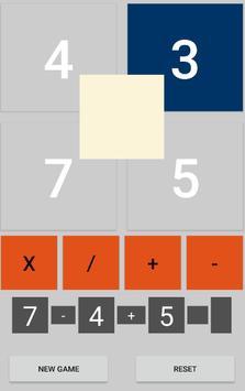 Math 24 Game bài đăng Math 24 Game ảnh chụp màn hình 1