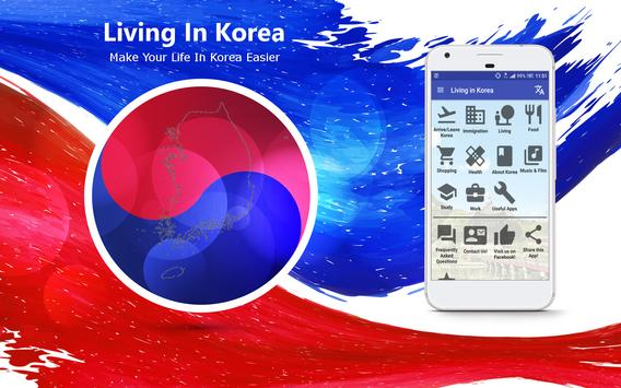 Living in Korea – Info & Tips poster