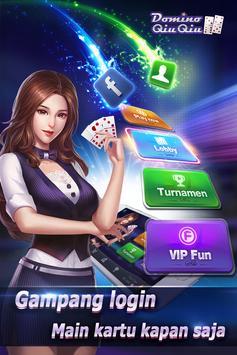 Domino QiuQiu 99(KiuKiu)-Top qq game online الملصق