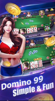 Domino QiuQiu 99(kiukiu) - Free domino games poster