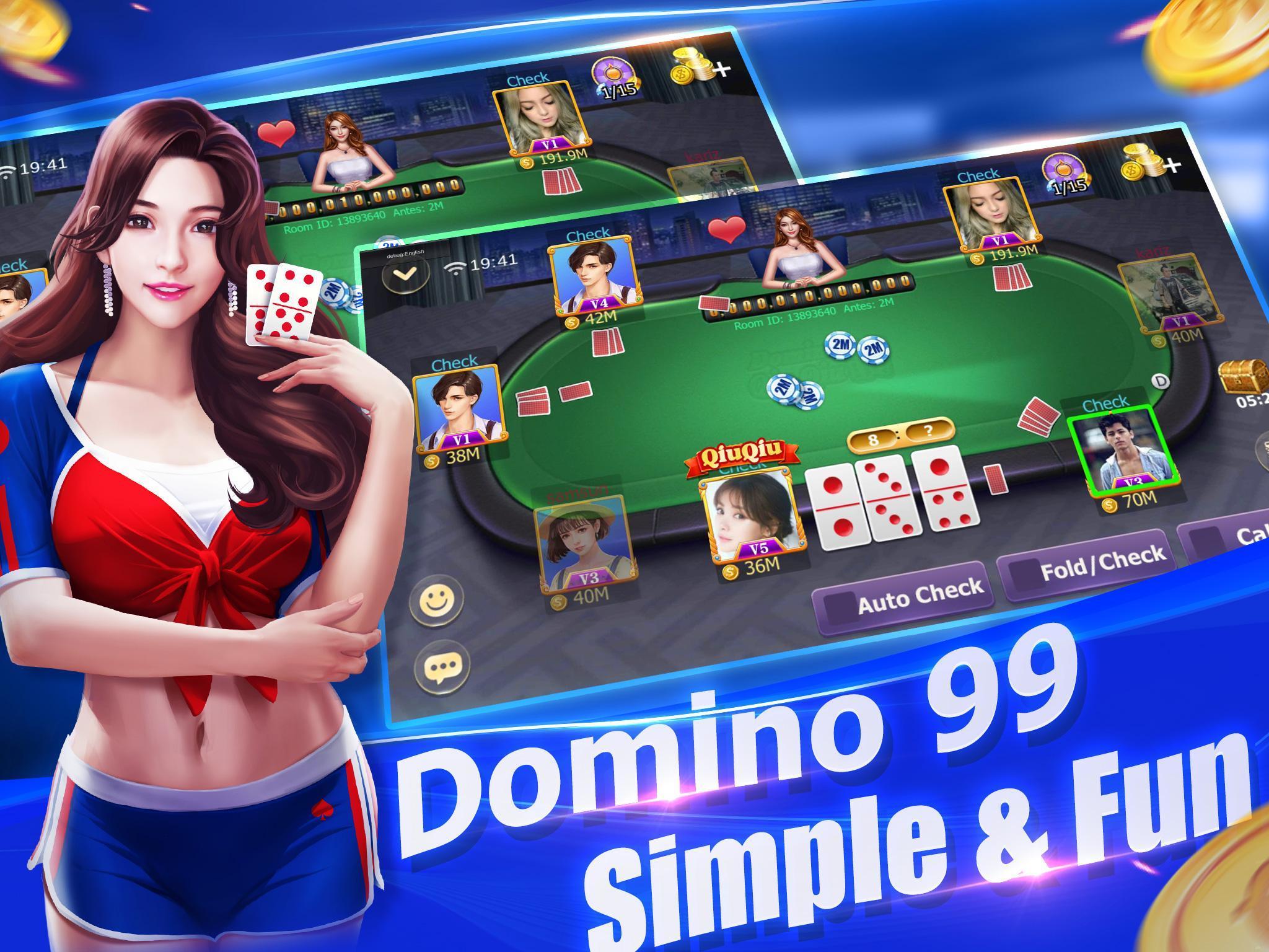Domino Qiuqiu 99 Kiukiu Free Domino Games For Android Apk Download