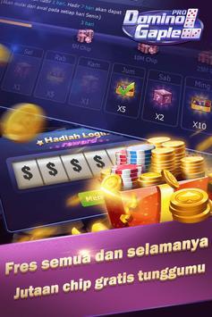 Domino Gaple Pro screenshot 1