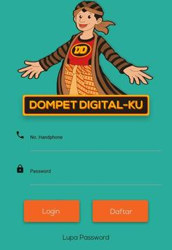 Dompet Digitalku -Top Up Pulsa,PLN,BPJS,Games dll poster