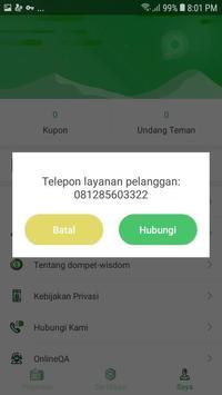 dompet-wisdom   Pinjam Uang Cepat screenshot 3
