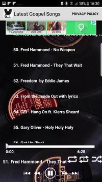 Latest Gospel Music (USA) TOP 100 SONGS GOSPEL apk screenshot