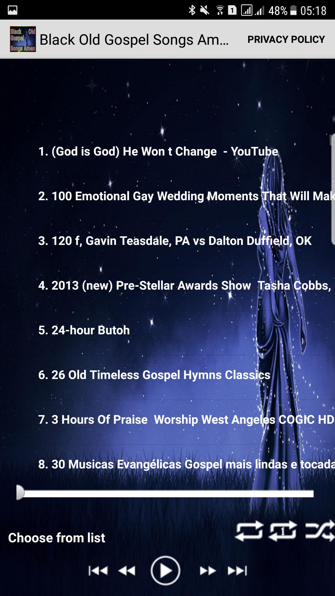 Black Old Gospel Songs Amen for Android - APK Download