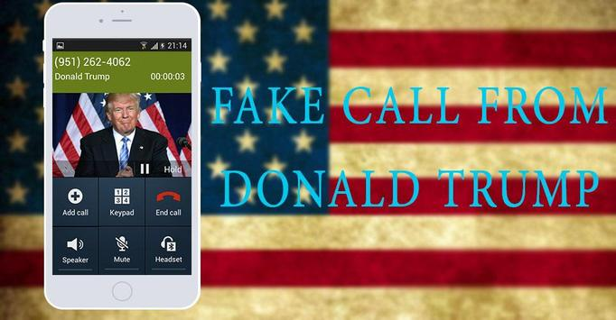 Fake Call From Donald Trump poster