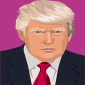 Donald Draws - Frappe Trump icon