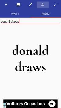Donald Draws Executive Free 17 poster