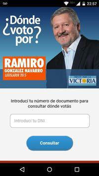Dónde voto a González Navarro poster