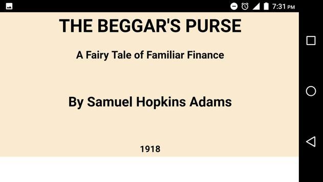 The Beggar's Purse by Samuel Hopkins Adams apk screenshot