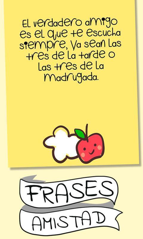 Frases Bonitas De Amistad для андроид скачать Apk