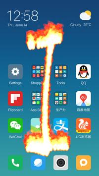 Fire Screen (Prank) penulis hantaran