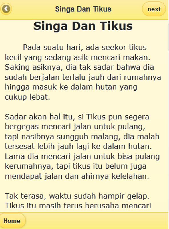 Image Result For Cerita Rakyat Pendek Untuk  Orang