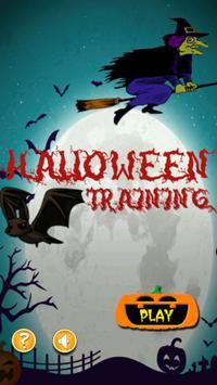 Halloween Training poster