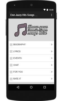Don Jazzy Hits Songs & Lyrics. poster