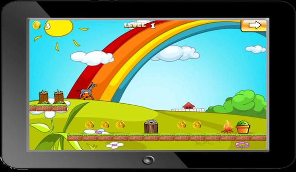 Donkey Jungle Run apk screenshot