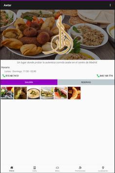 Awtar Restaurante Árabe screenshot 4