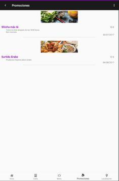 Awtar Restaurante Árabe screenshot 6