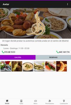 Awtar Restaurante Árabe screenshot 8