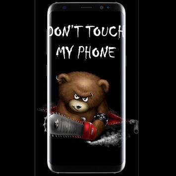 Dont Touch My Phone Wallpaper Poster