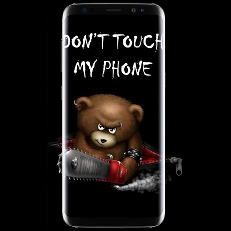 Dont Touch My Phone Wallpaper poster ...