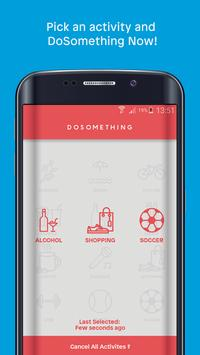 DOSOMETHING apk screenshot