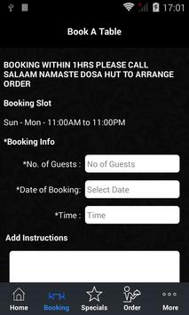 Salaam Namaste Dosa Hut apk screenshot