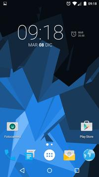 Muh Triangles Live Wallpaper capture d'écran 3