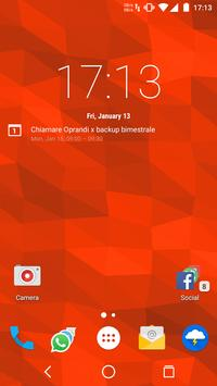 Muh Triangles Live Wallpaper Affiche
