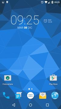 Muh Triangles Live Wallpaper capture d'écran 1