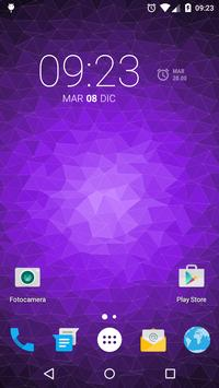 Muh Triangles Live Wallpaper capture d'écran 2