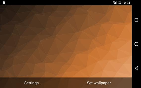 Muh Triangles Live Wallpaper capture d'écran 7