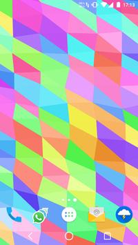 Muh Triangles Live Wallpaper capture d'écran 4