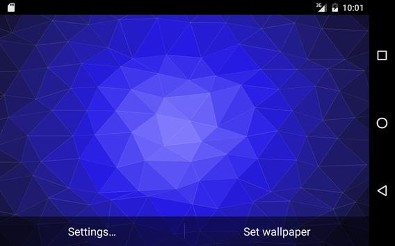 Muh Triangles Live Wallpaper capture d'écran 6