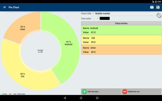 Pie Chart apk screenshot