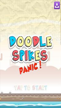 Doodle Spikes Panic! poster