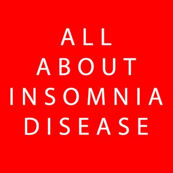 All About Insomnia Disease poster