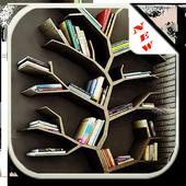 Unique Bookshelf Design icon