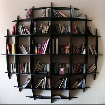 Unique Bookshelf Design apk screenshot