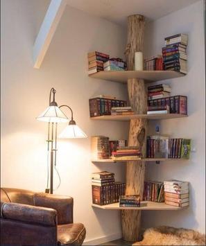 Unique Bookshelf Design poster