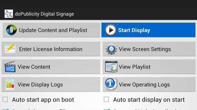 doPublicity Digital Signage screenshot 6