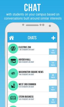 DormChat - Meet your Campus poster