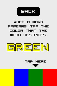 Colored Words poster