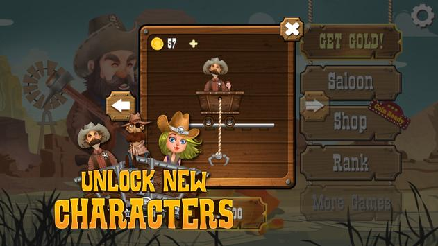 Cowboy Miners apk screenshot