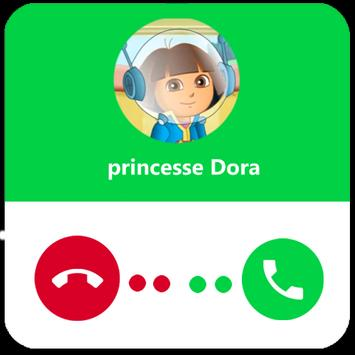 faux appel princesse Dora apk screenshot